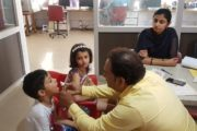 Vijyashree College Free Checkup For Kids