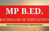 MP Pre B.Ed Entrance Exam 2019 Application Form, Dates, Eligibility, Syllabus, Pattern